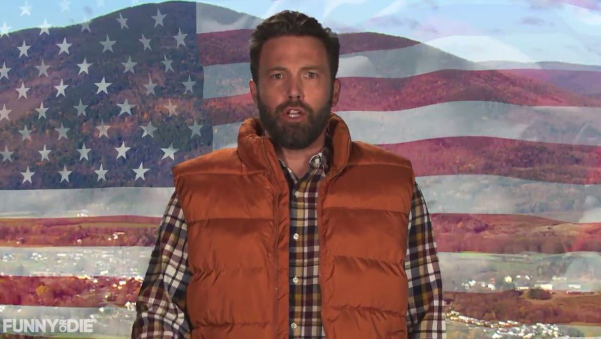 Ben Affleck dons his best Boston accent, tells New Hampshire to go vote