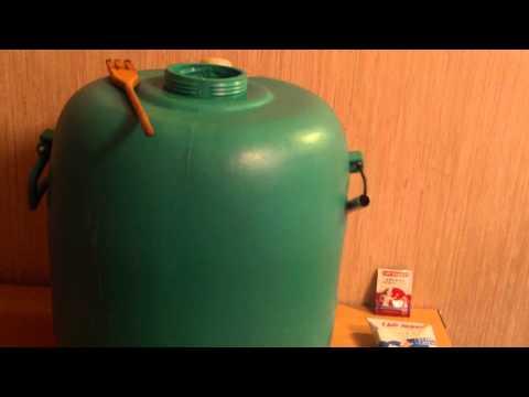 Приготовление браги из сахара и дрожжей для изготовления самогона