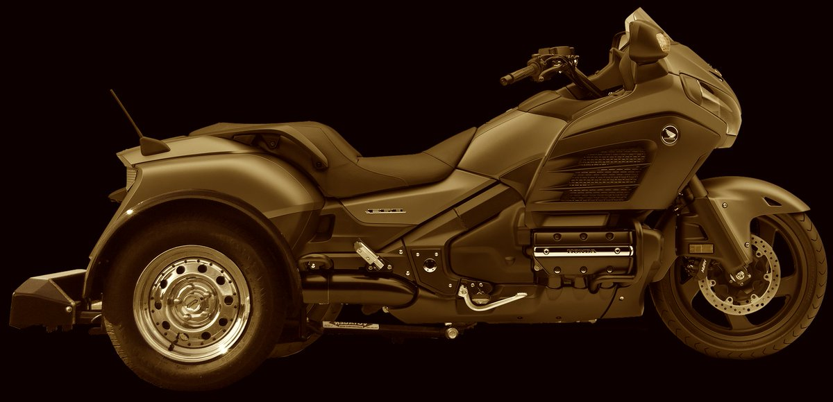 Added another to the already 150+ list of motorcycles we can convert with the Voyager trike kit. We welcome the Honda F6B.