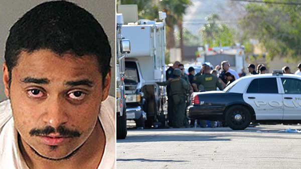 Death penalty sought for suspected Palm Springs cop killer, officials say