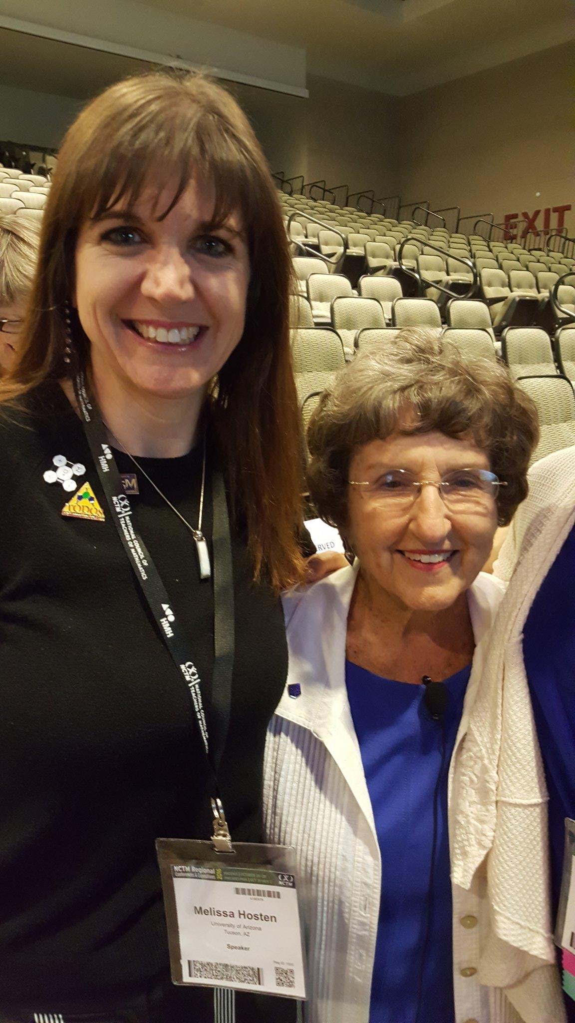 So excited to tweet for Shirley Frye #presIgnite #NCTMregionals https://t.co/9cueABicmK