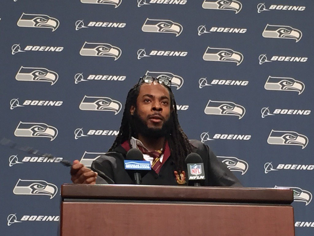 Richard Sherman: I'm a Gryffindor, not going to be a Hufflepuff.