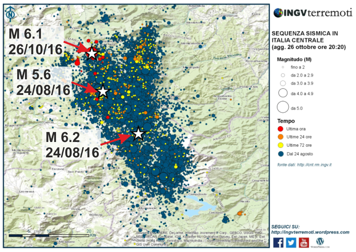 Stephen Hicks On Twitter Map Of Todays M Italy Earthquake In - Italy earthquake map