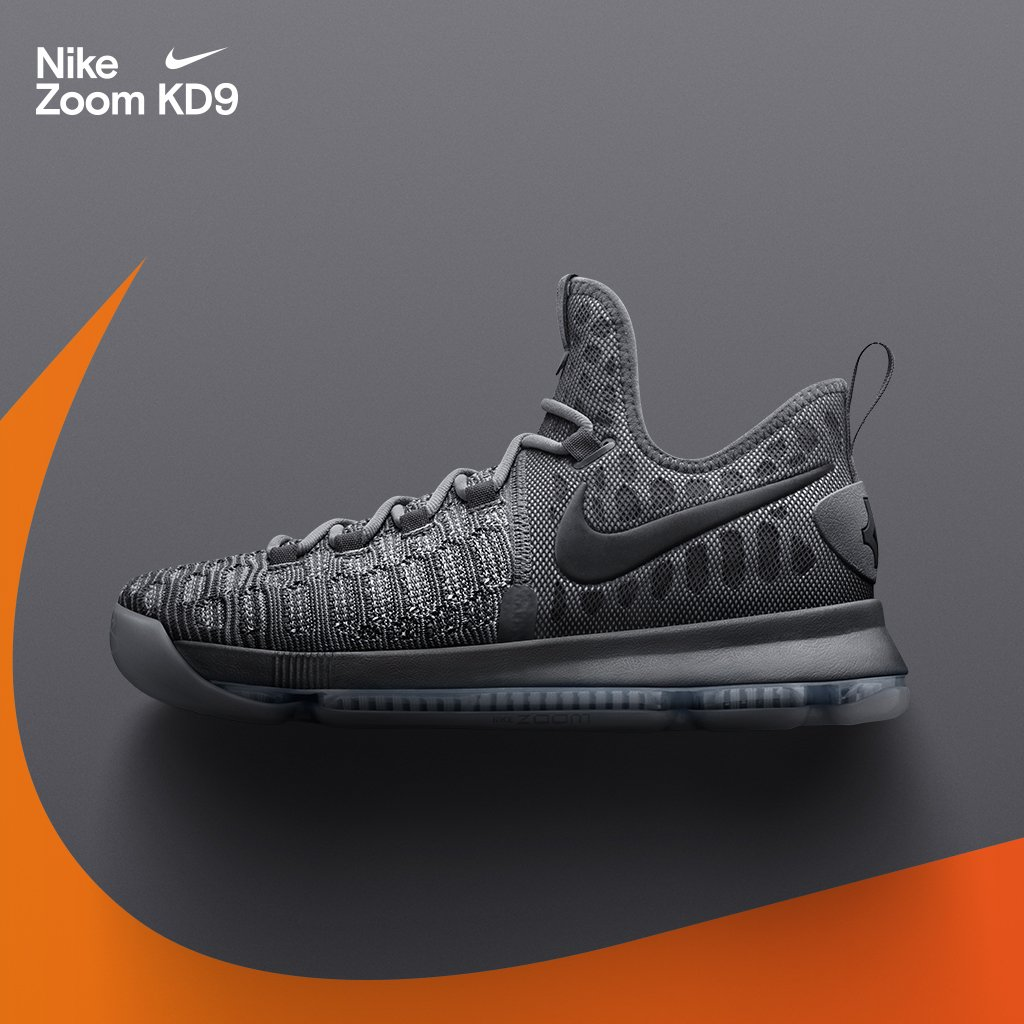 official photos c9cf4 4ea36 Nike is dropping grey-on-grey colorways of the KD 9, Kyrie 2, Soldier 10,  and Hyperdunk 2016 this weekend. Available on  10 29.pic.twitter.com 2gq2CkAseC