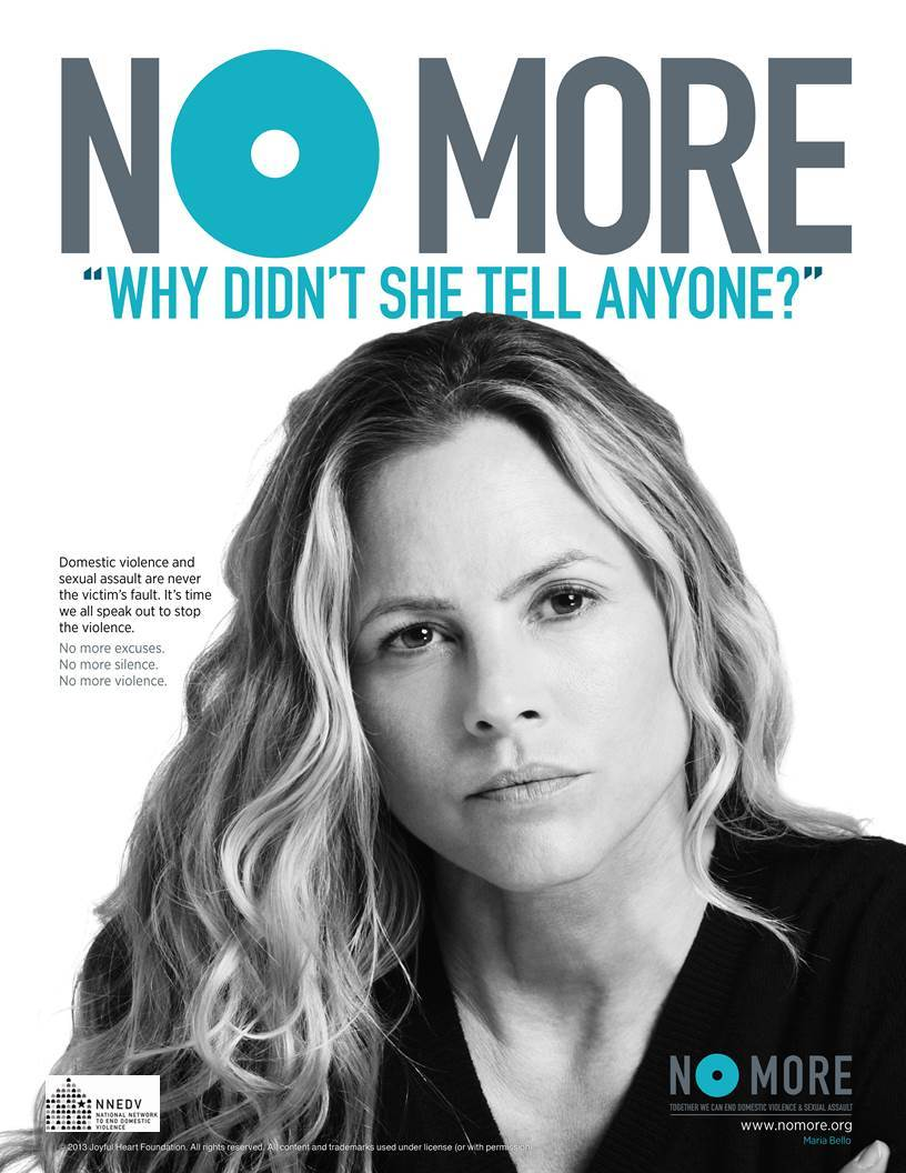 Domestic violence & sexual assault are NEVER the victim's fault. RT if you agree.   #NOMORE @NOMOREorg #DVAM2016 https://t.co/jeEvZ8y3N8