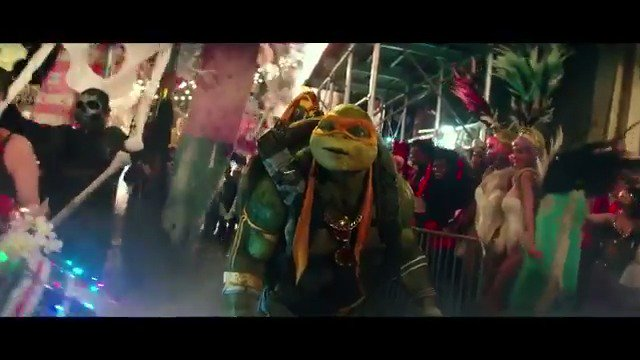 That moment when you feel like you finally fit in. @TMNTMovie amzn.to/2eSlPyr #TMNT