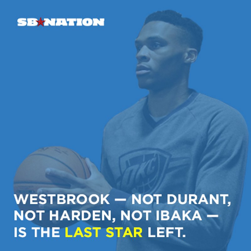 russell westbrook stayed in okc when other star teammates left