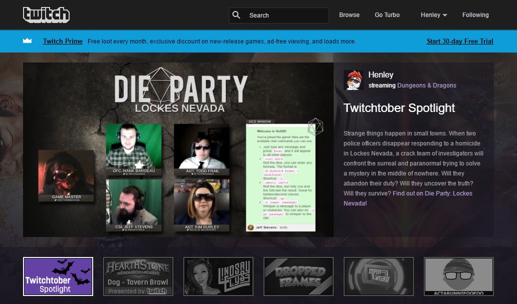 WOO! Frontpage! Much love @Twitch <3 https://t.co/CQSsaDzvBi
