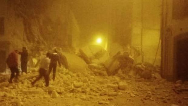 Terremoto a Camerino, crolli in città