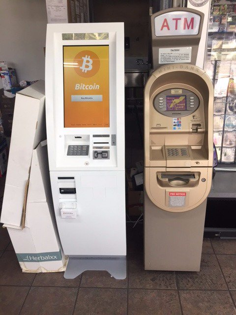 New bitcoin atm added