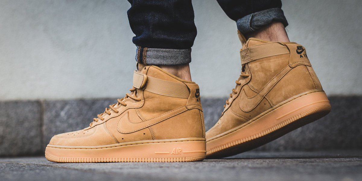 Nike Air Force 1 High '07 LV8 WBFlax (On Feet)