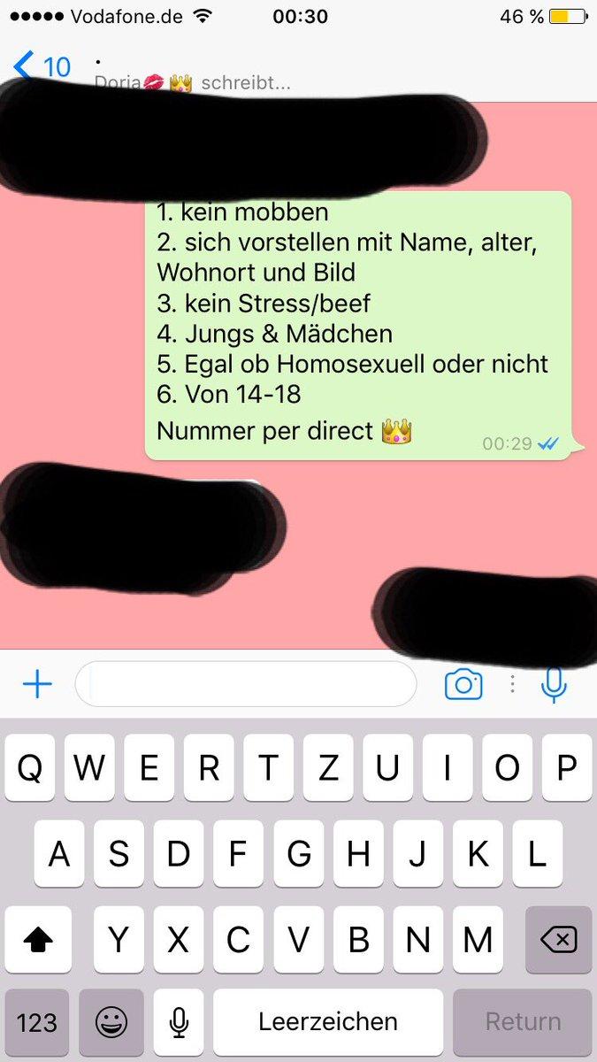 Mädchen flirten per whatsapp