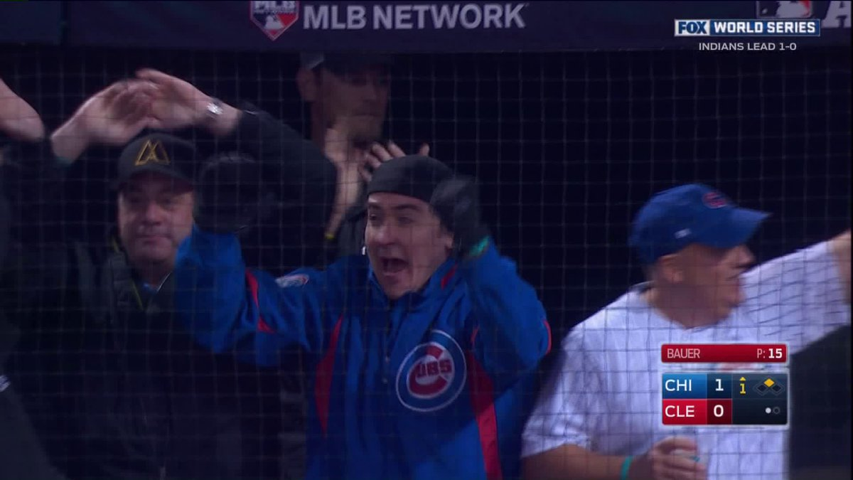 Cubs first World Series run in 71 years. Cue, Cusack!