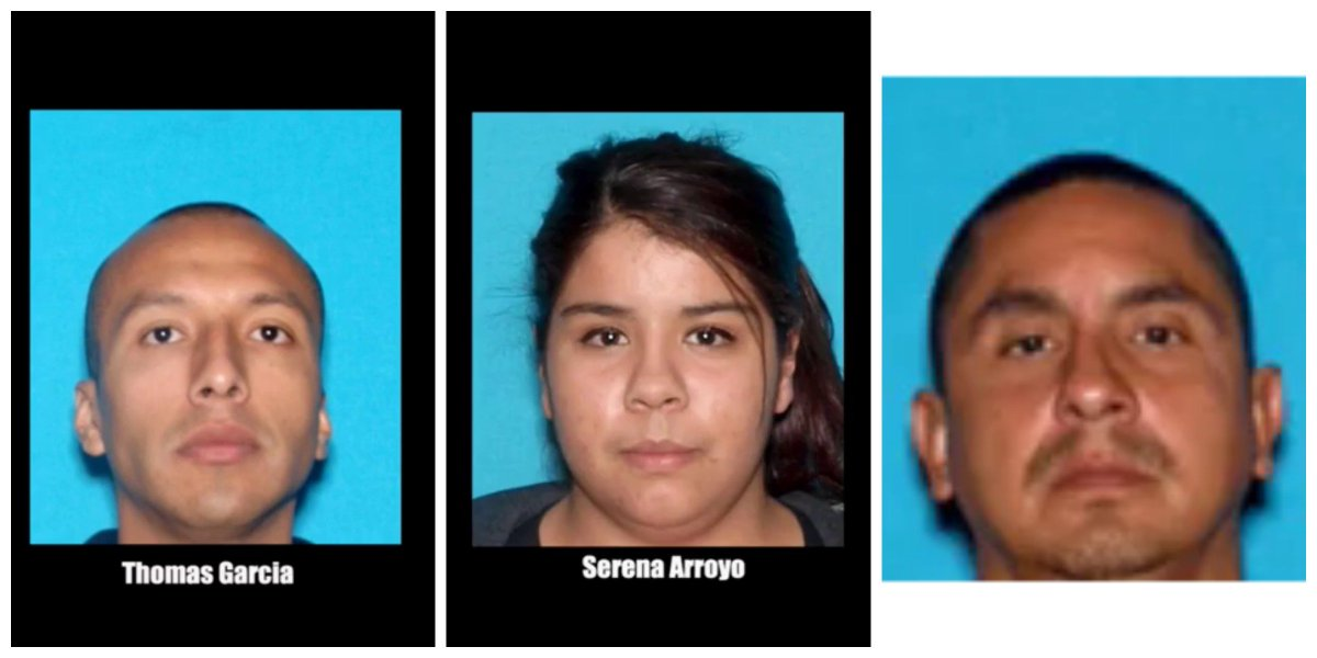 2 arrested in Madera police car shooting caught on dash cam video, 1 at large.