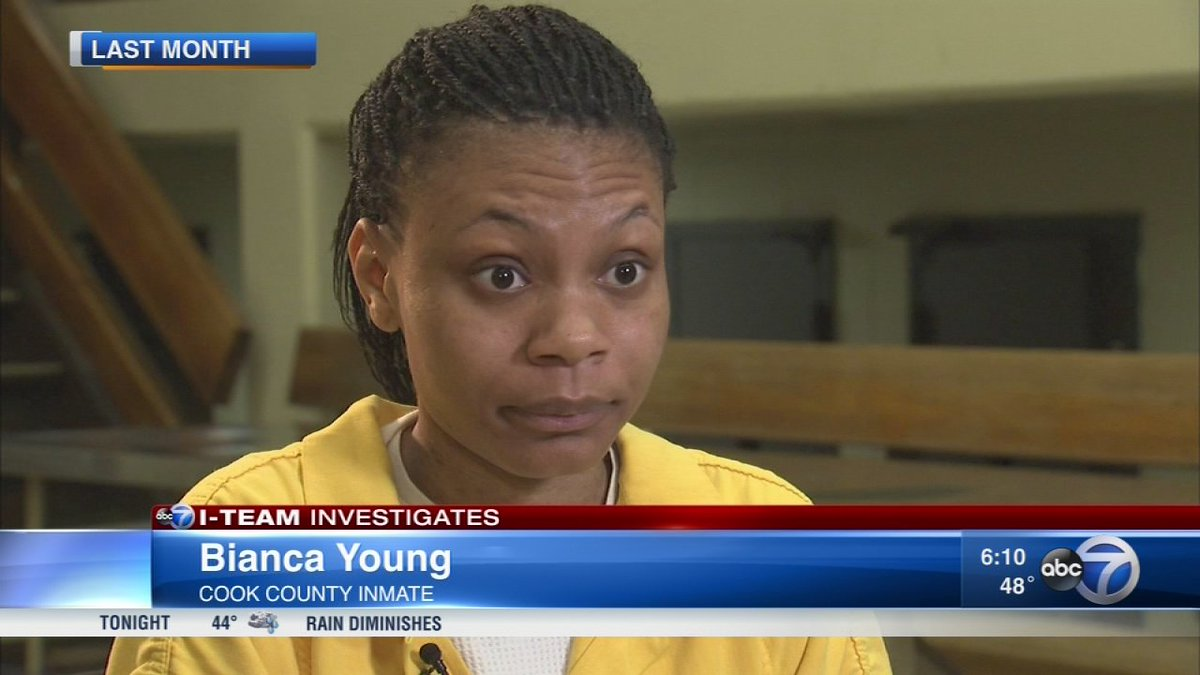 Woman who couldn't afford bond while in jail, released from prison