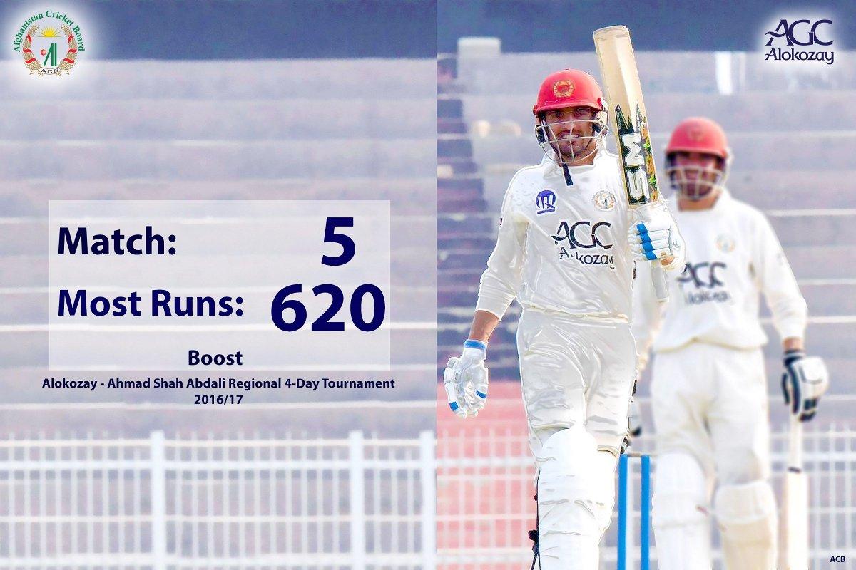 Afghanistan Cricket Board On Twitter Nasir Jamal Ahmadzai Best Performer In Alokozay