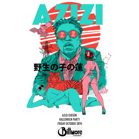 Retweet to win a pair of tickets to see @azizigibson this Friday in Vancouver https://t.co/3zy1B54Mzi https://t.co/vtZoNILq9q