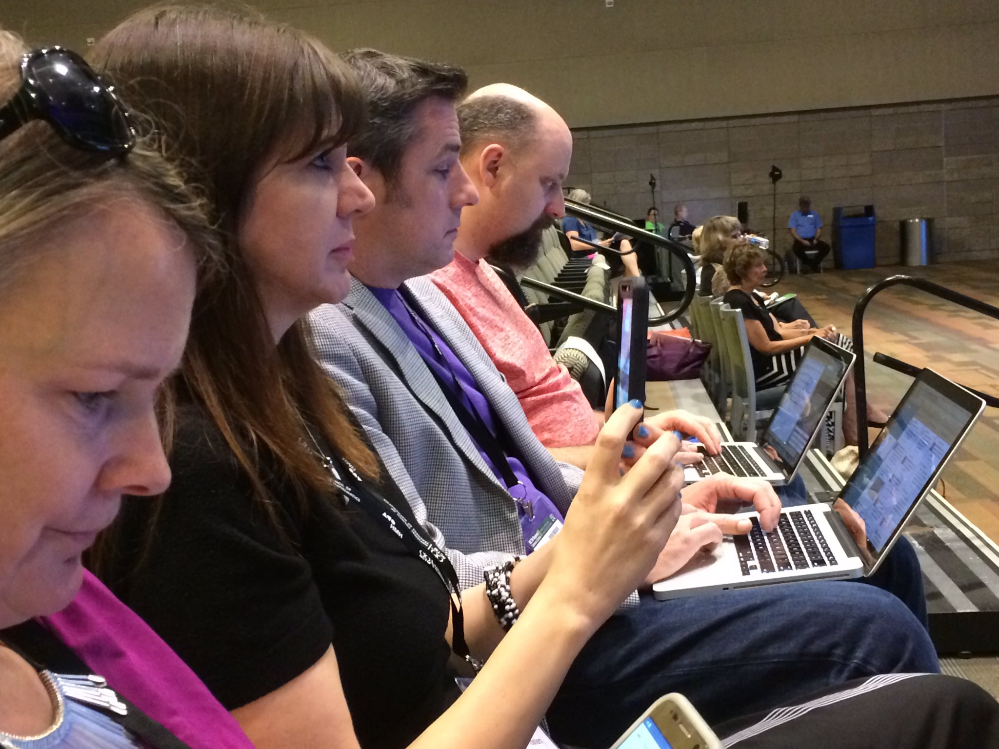 These folks are tweeting up a storm during the #presIgnite at #NCTMregionals https://t.co/UnCkKjOmsh