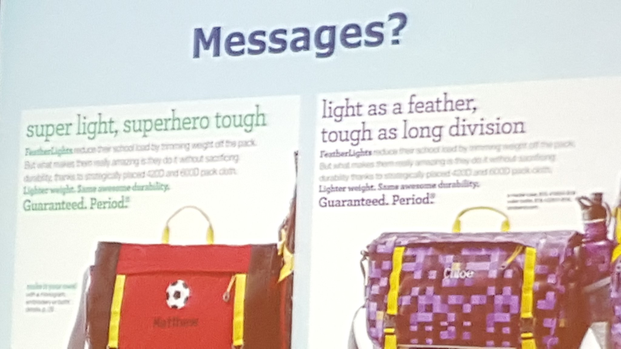 Micro messages and implicit messages are crucial to attend to thru peer observ! @dbriars #NCTMregionals #presIgnite https://t.co/NtpyUGCMr9
