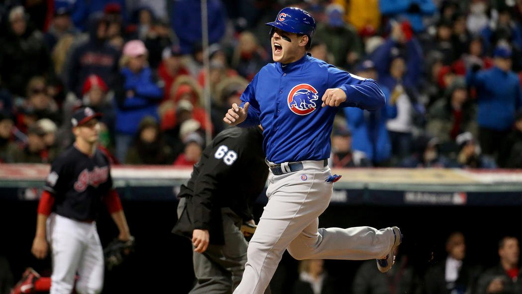 Cubs take 5-0 lead over Indians in the fifth inning