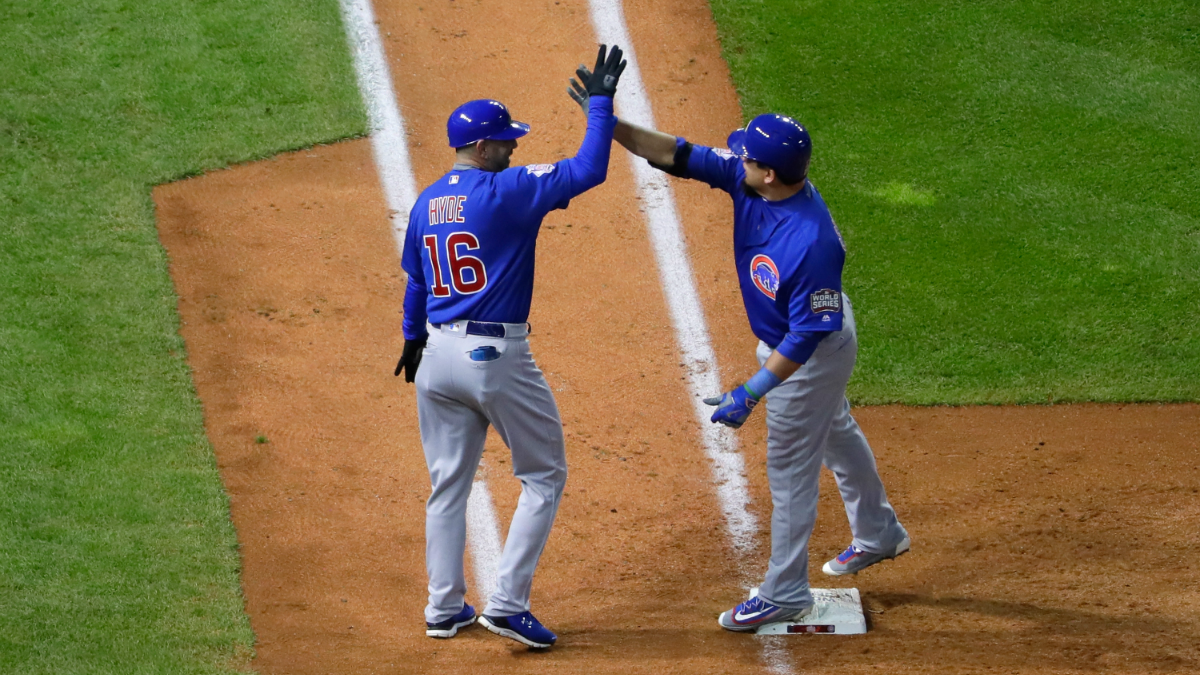 Cubs hold on to a 5-1 lead in the bottom of the 8th inning. LIVE UPDATES: WorldSeries