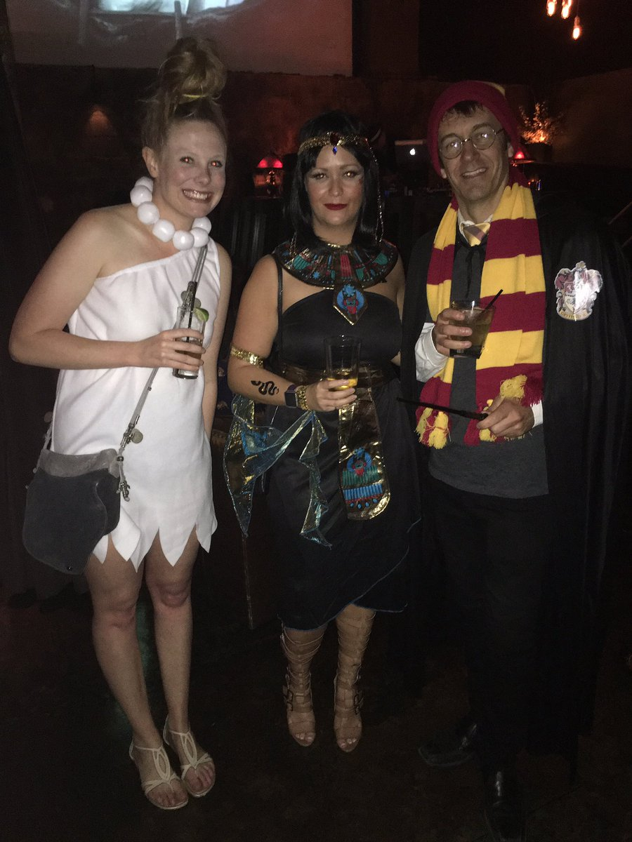 Greetings from our annual LA Halloween party! 🎃