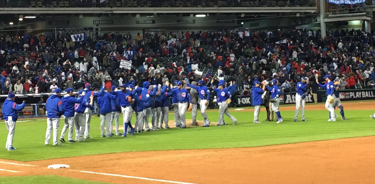 World Series Game 2: Cubs at Indians   Page 5