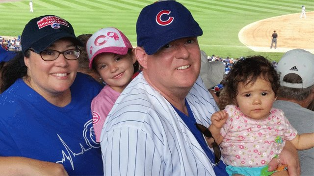 Local Cubs fan gets World Series tickets for anniversary