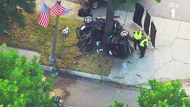 1 dead in Upland crash that may have been caused by street racing, police say