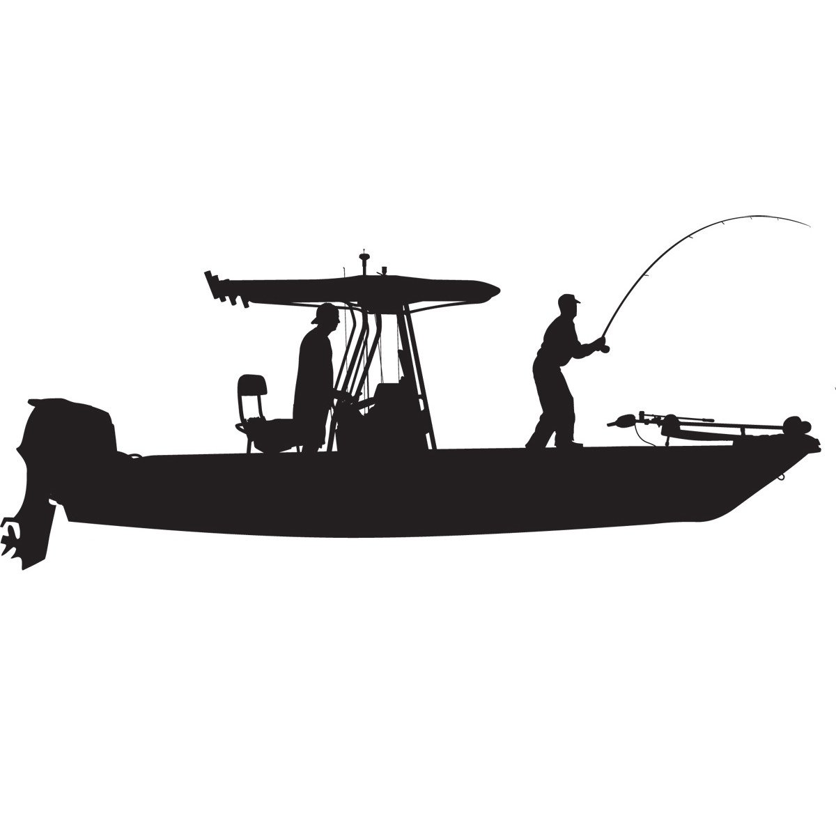 Skiff Life On Twitter Skiff Life T Top Flats Console Fishing Boat Car Decal Stickers Https T Co Rk6fipk8ni Fishing Adhesivestickers
