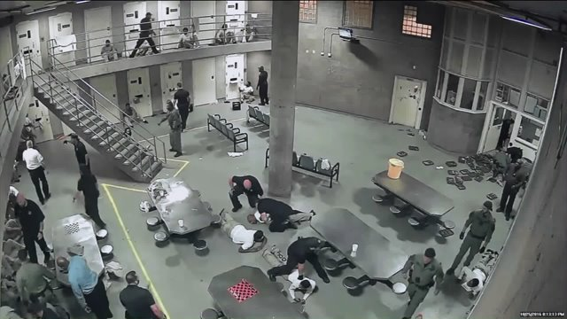 of Cook County Jail brawl released
