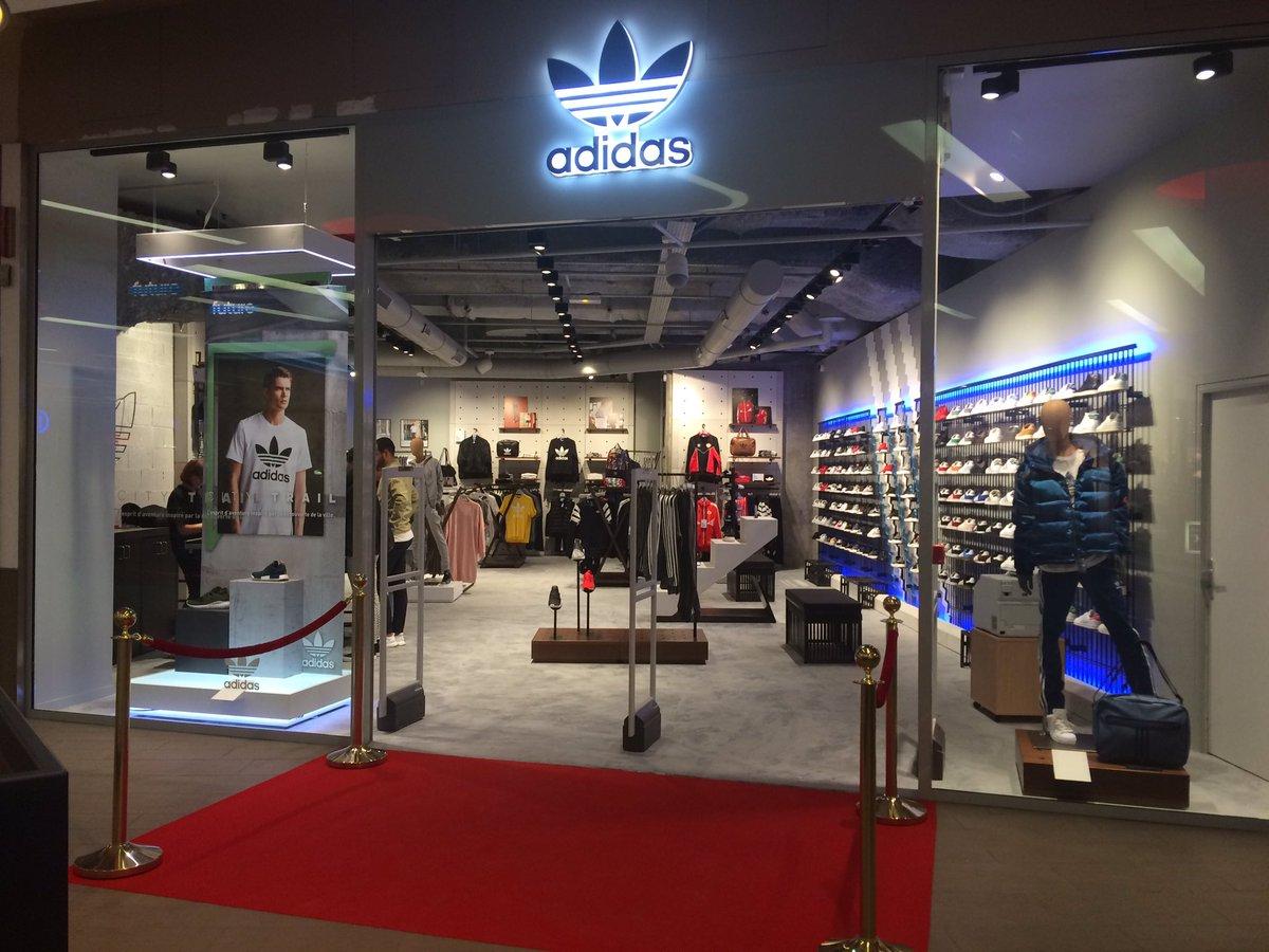 ouvrir une boutique adidas