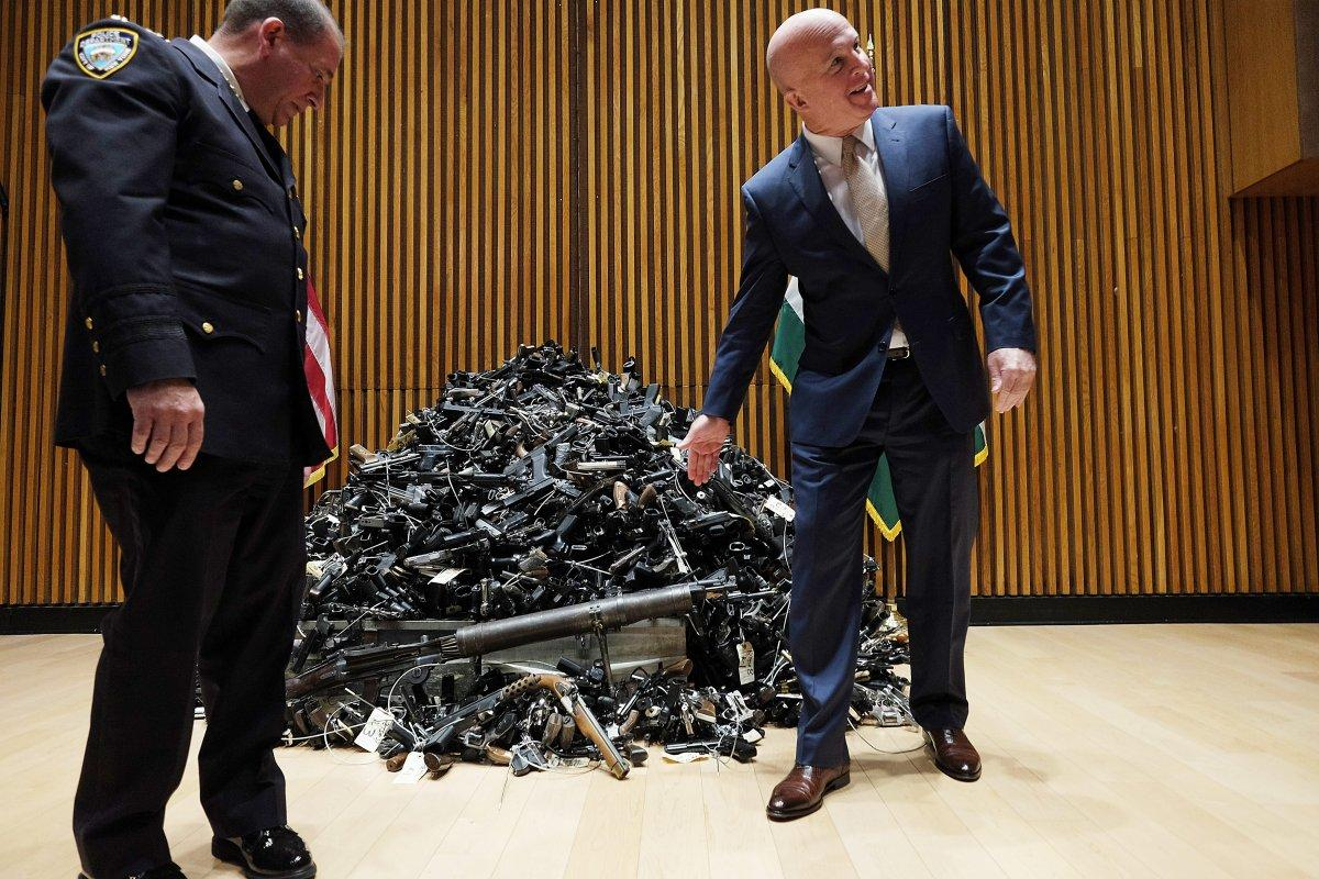 NYPD has seized more guns this year than it has in the past three years