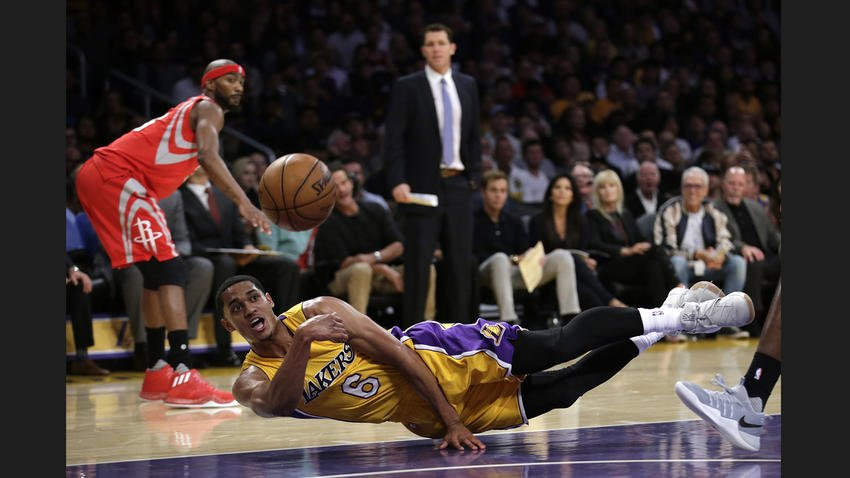 Lakers begin post-Kobe Bryant era with a 120-114 win over Rockets