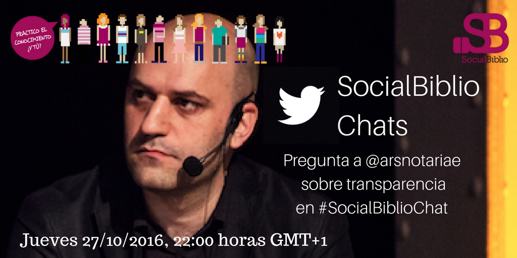 Thumbnail for SocialBiblioChat Transparencia 27/10/2016