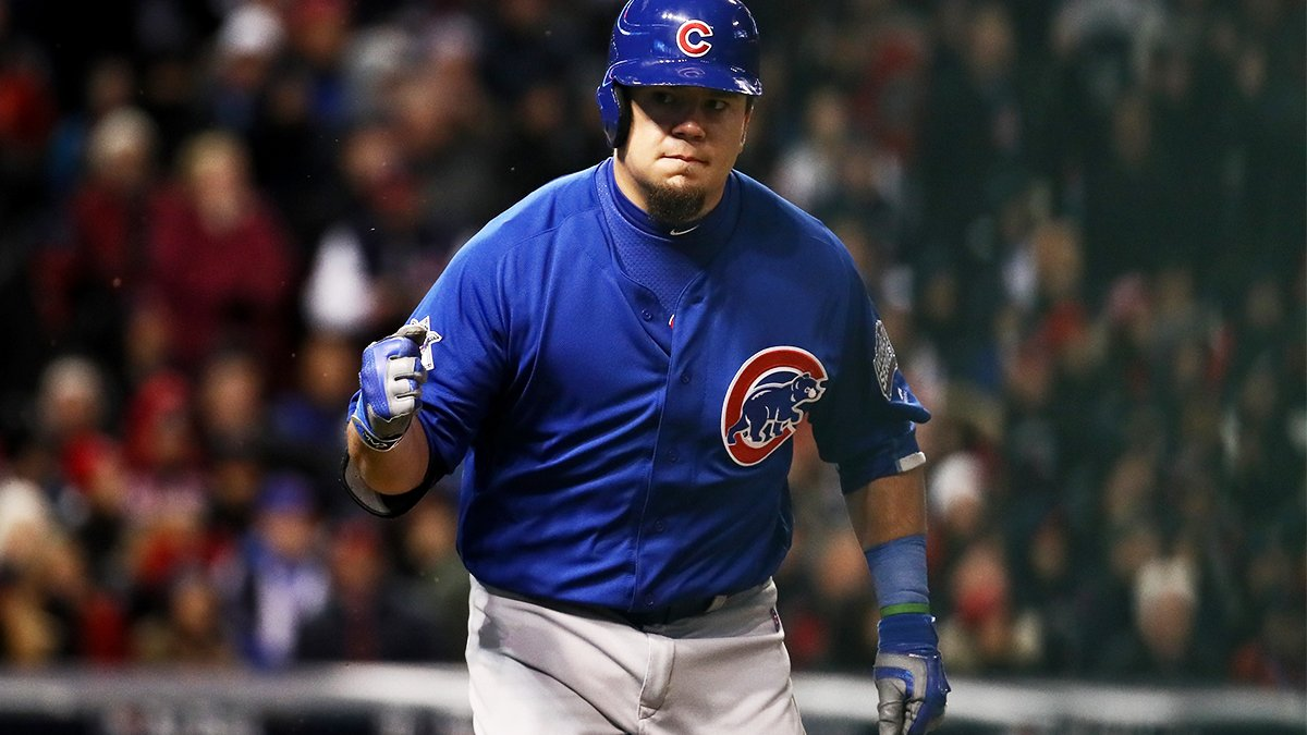 Schwarber's touching reason he wears green bracelet during games