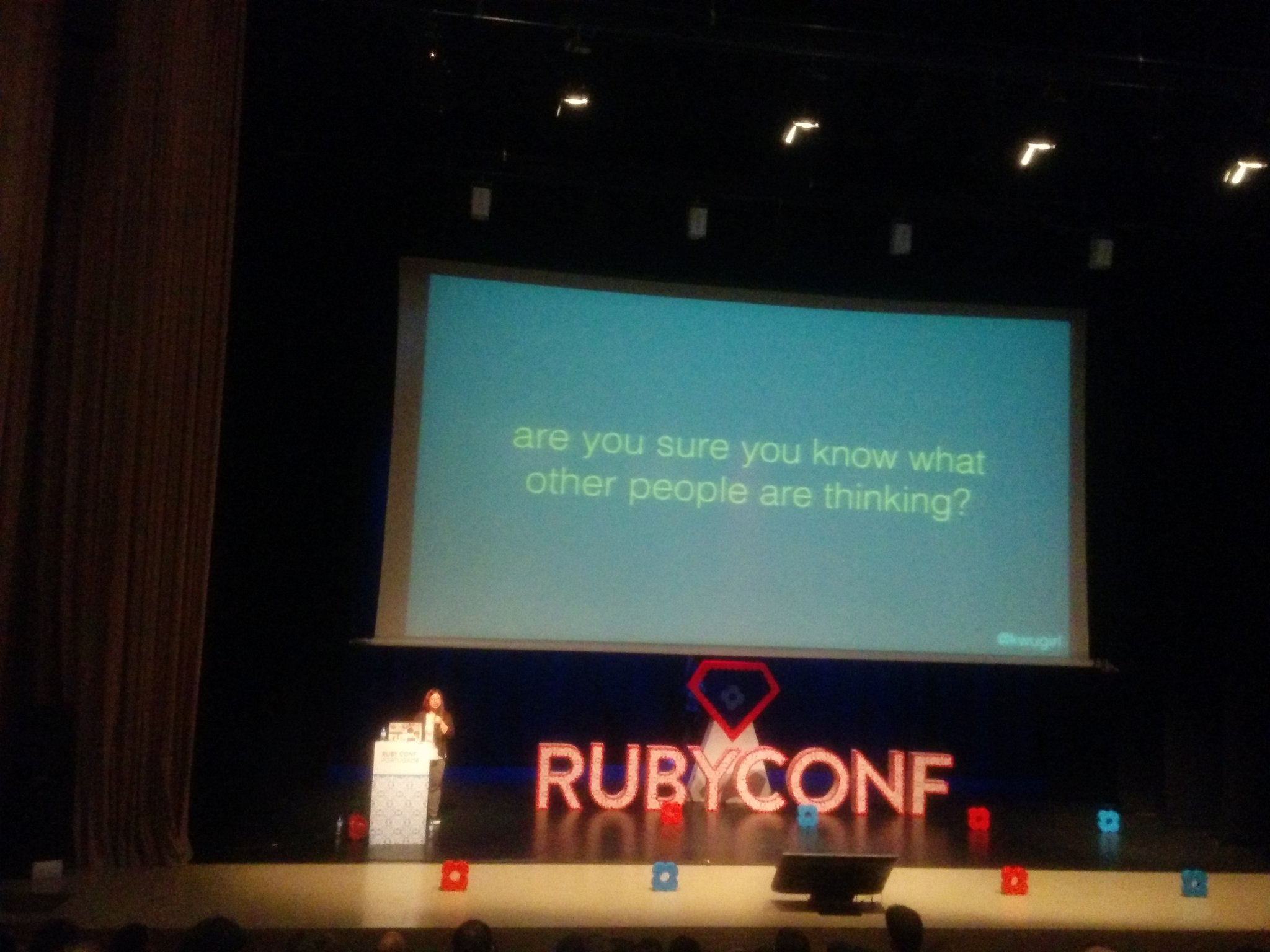 "@kwugirl ""Ask vs. Guess Culture Communication"" #rubyconfpt https://t.co/3Ldl3Ge8uV"