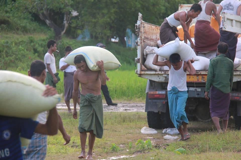 "Ro Nay San Lwin on Twitter: ""#Myanmar govt is sending aids ..."