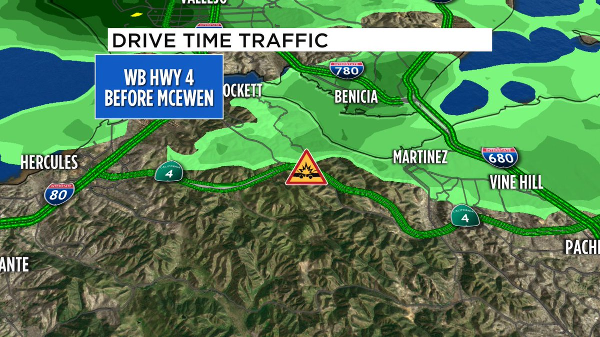 All lanes open now on WB Hwy 4 near McEwen for rollover crash- right shoulder blocked, waiting for tow.