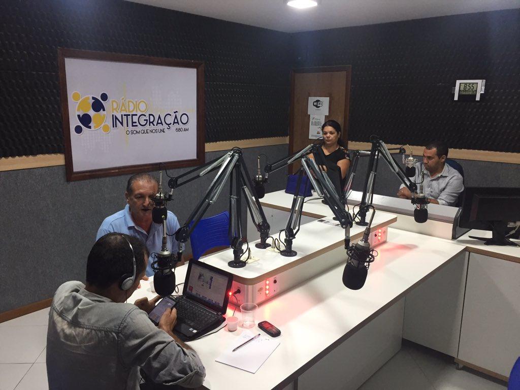 Rádio Integraçao 680 AM https://t.co/kFW3XBwLxy