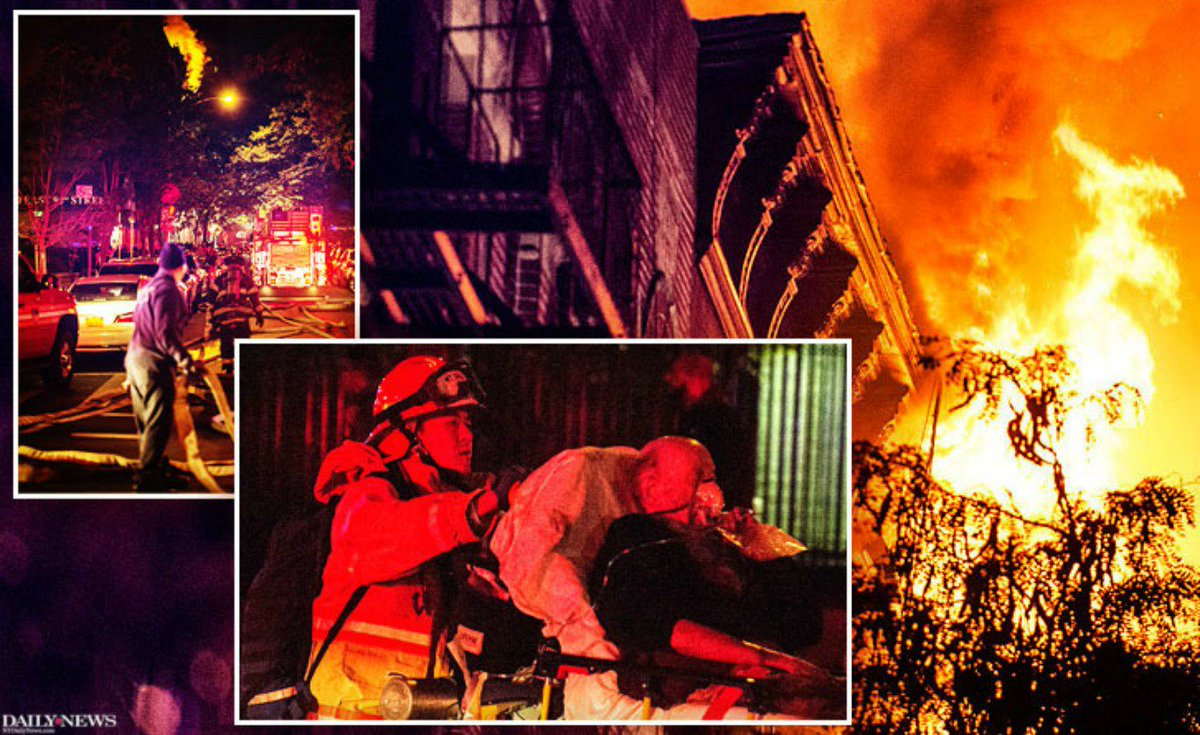 Massive fire destroys Upper East Side apartment building, killing one and injuring five