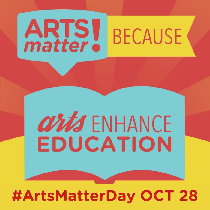3rd Annual #ArtsMatters Day is almost here! At Longy, arts matter to us. Thank you @MASSCreative for all you do - we'll be ready tomorrow! https://t.co/eHY74oO5H5