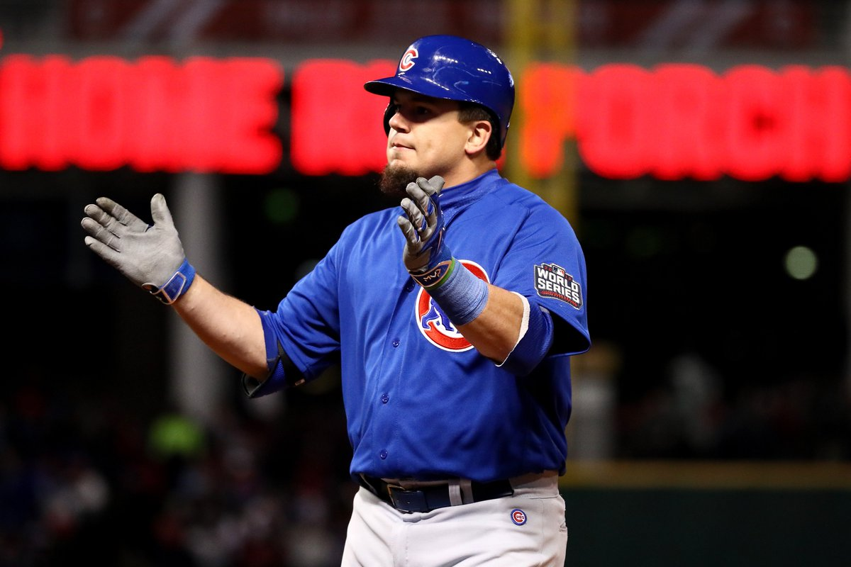 You just can't make up a superhero as crazy and amazing as KyleSchwarber. RosenBlog: Cubs