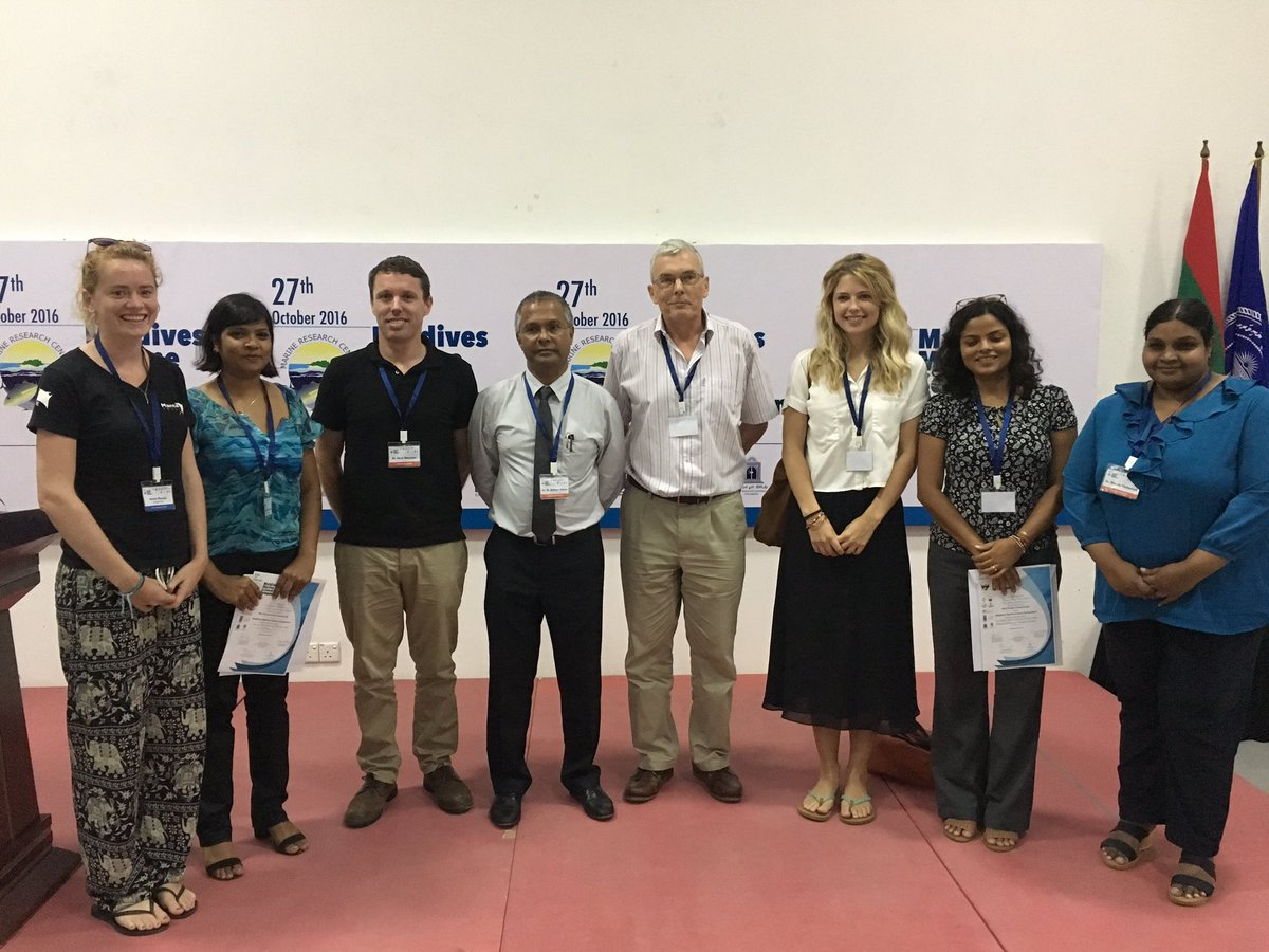 A very successful 1st Maldives Marine Science Symposium has come to an end with the best presentations and posters awarded prizes. #MMSS pic.twitter.com/PJHy9Dv6c7
