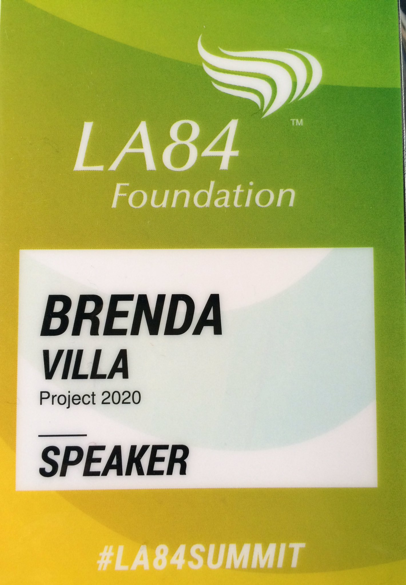 It's a privilege & duty 2 give back #playingforward 💛 LA is in my heart always love helping out @LA84Foundation & @LA2024  #LA84summit https://t.co/ESCzgkzUt7