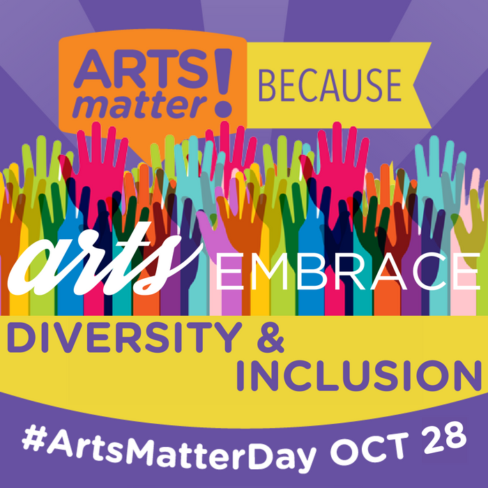 #ArtsMatter to.@SSConservatory! Let's celebrate #arts & #culture in #MA tomorrow! #ArtsMatterDay .@MASSCreative https://t.co/iJ7FXSkQRP