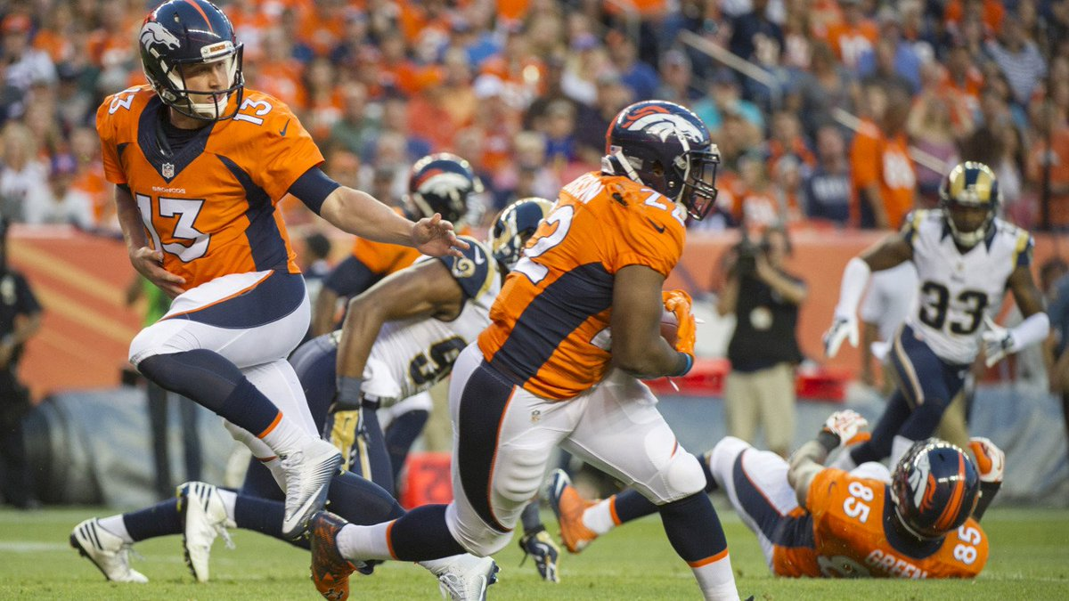 Broncos Anderson's Recovery Time Unknown After Knee Injury