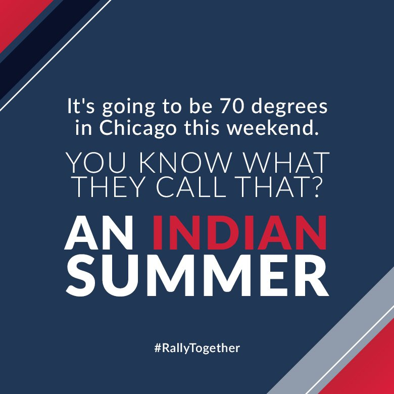 Who's ready for Game 3 of the #WorldSeries? Go Tribe! #RallyTogether https://t.co/iOhh3RIuqF