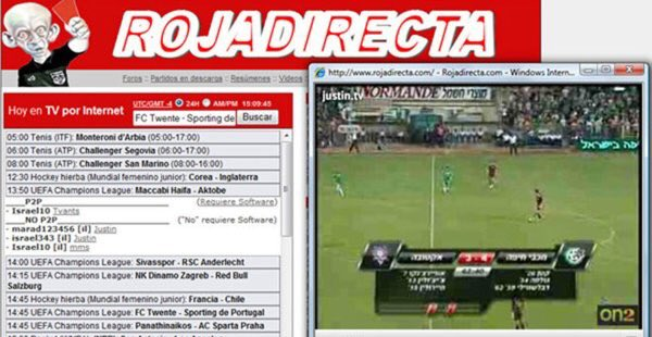 Arrestato l'admin di ROJADIRECTA, il sito con i links per Vedere Partite Streaming Gratis.