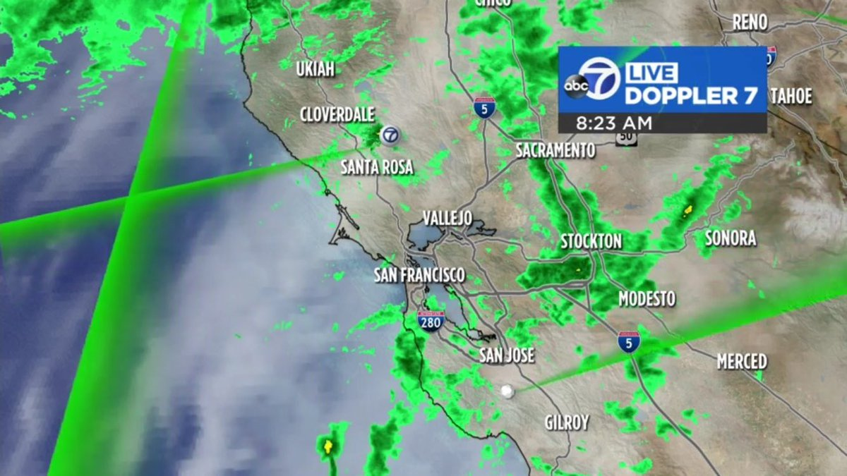 A peppering of light showers this morning. Coverage and intensity picks up later tonight.